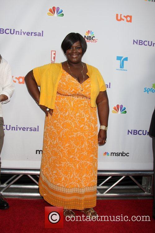 Retta Sirleaf  Arriving at the NBC TCA...