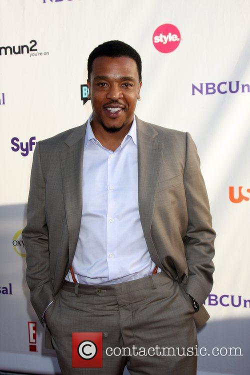 Russell Hornsby  Arriving at the NBC TCA...
