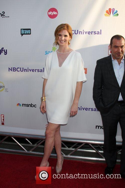 Arriving at the NBC TCA Summer 2011 All...