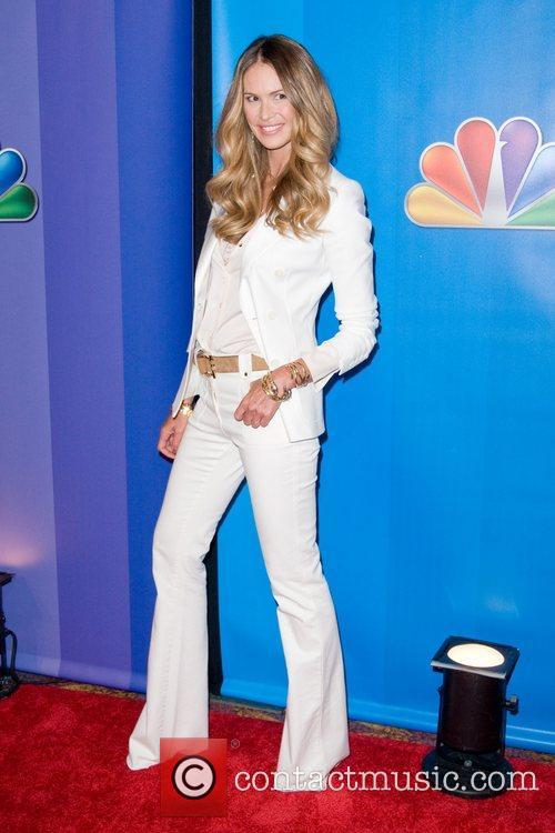Elle Macpherson 2011 NBC upfront presentation - arrivals...