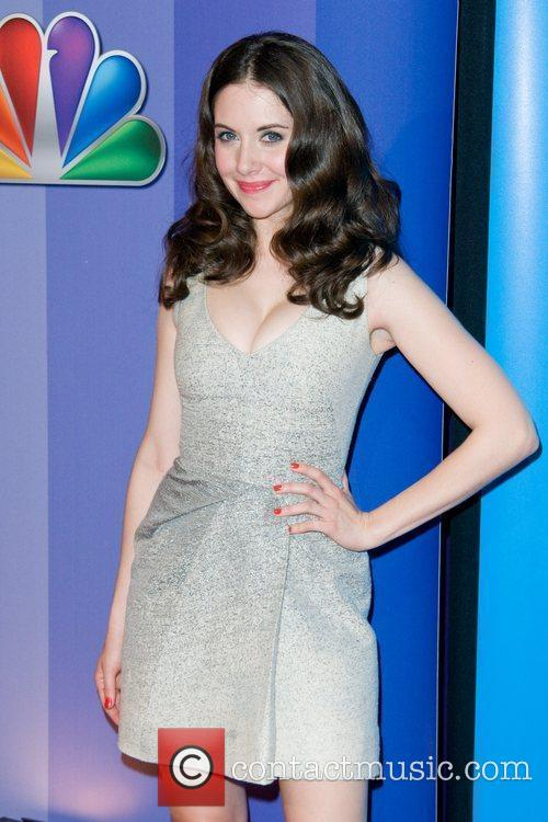 Alison Brie 2011 NBC upfront presentation - arrivals...