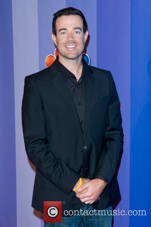 Carson Daly 2011 NBC upfront presentation - arrivals...