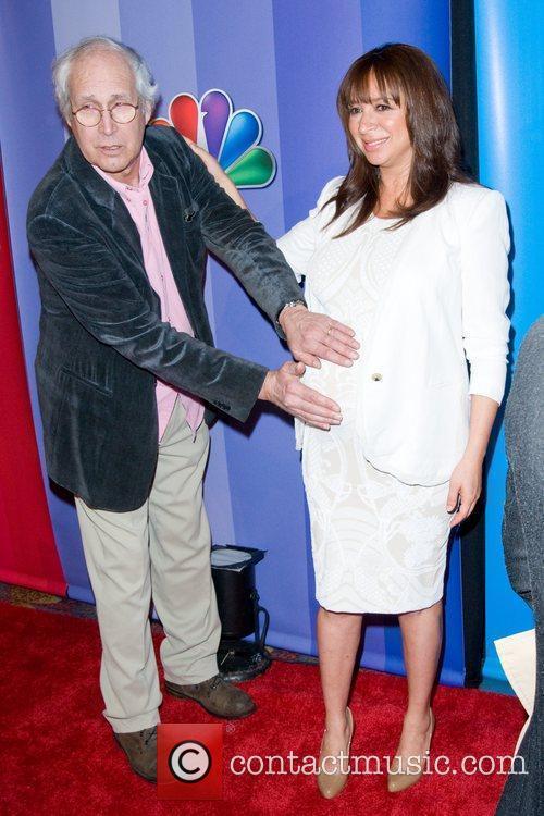 Chevy Chase, Maya Rudolph 2011 NBC upfront presentation...