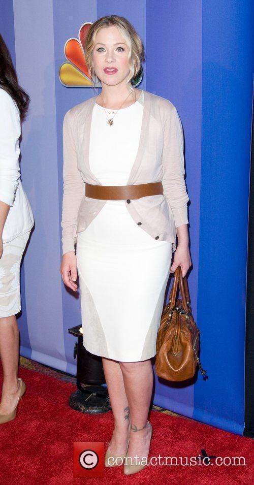 Christina Applegate 2011 NBC upfront presentation - arrivals...