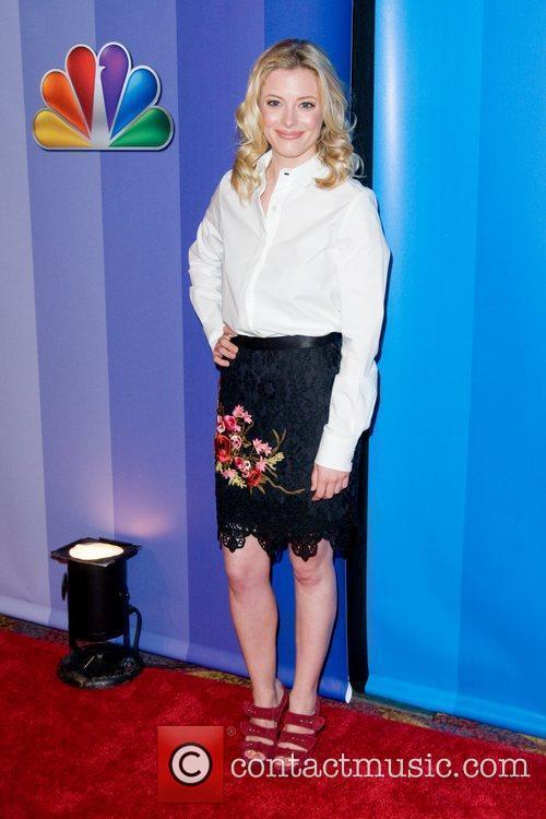 Gillian Jacobs 2011 NBC upfront presentation - arrivals...