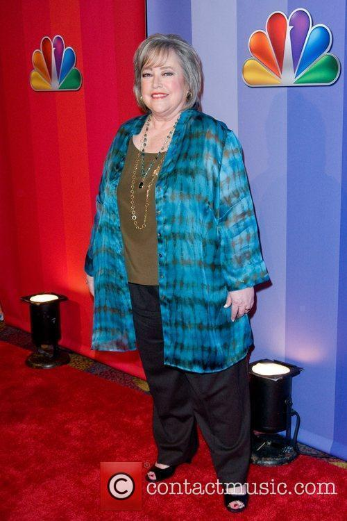 Kathy Bates 2011 NBC upfront presentation - arrivals...
