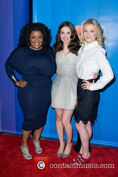 Yvette Nicole Brown, Alison Brie and Gillian Jacobs...