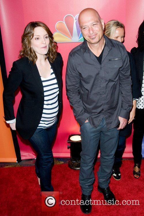 Tina Fey, Howie Mandel  2011 NBC upfront...