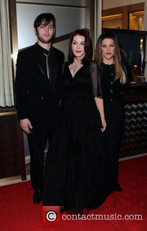 Priscilla Presley, Las Vegas and Lisa Marie Presley 5