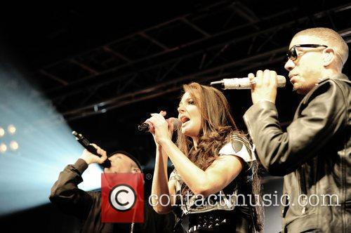 N-Dubz performing at the o2 academy