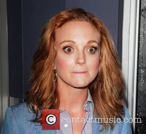 Jayma Mays attends the switching on of the...