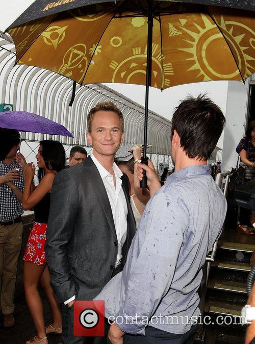 Neil Patrick Harris attends the switching on of...