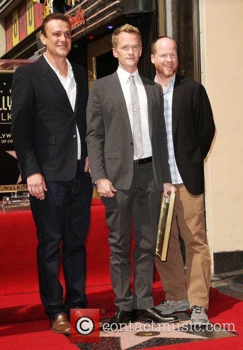 Jason Segel, Joss Whedon, Neil Patrick Harris and Walk Of Fame 2
