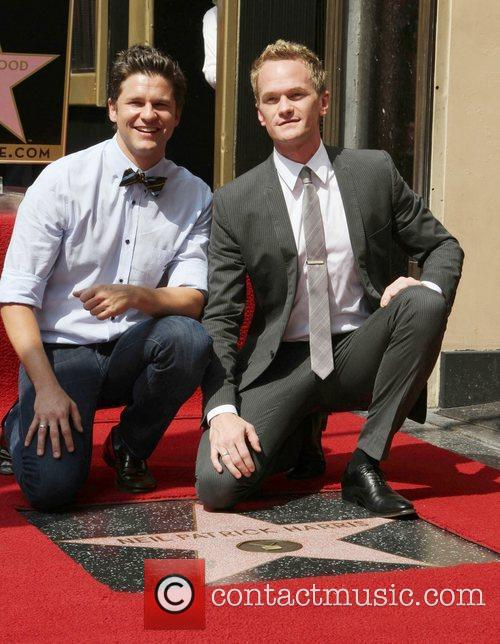 Neil Patrick Harris, David Burtka and Walk Of Fame 5