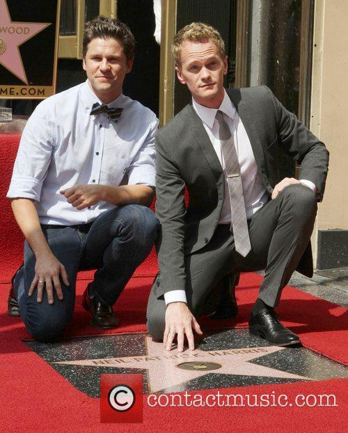 Neil Patrick Harris, David Burtka and Walk Of Fame 2
