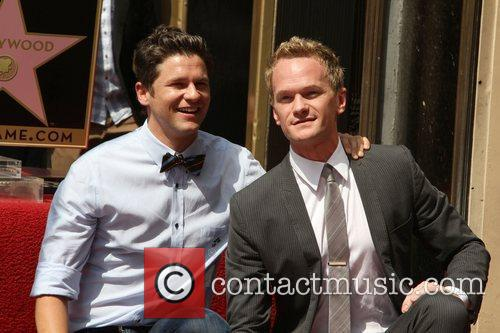 Neil Patrick Harris, David Burtka and Walk Of Fame 11