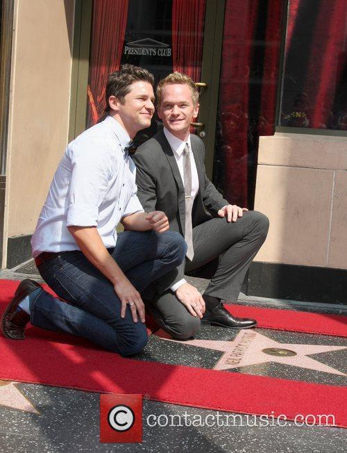 David Burtka, Neil Patrick Harris and Walk Of Fame 2