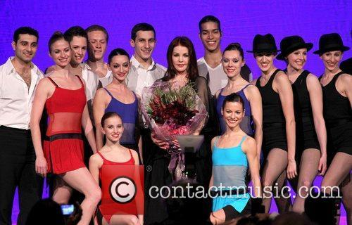 Priscilla Presley and performers The Nevada Ballet Theater...