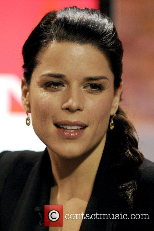 Neve Campbell  appearing on CTV's 'The Marilyn...