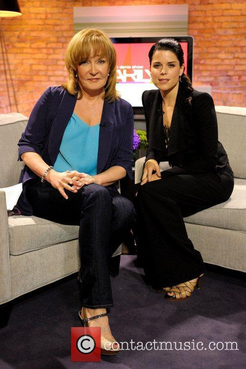 Marilyn Denis and Neve Campbell  appearing on...