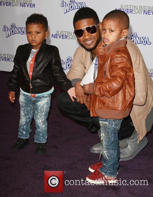 Usher and his sons