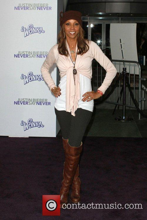 Holly Robinson Peete and Justin Bieber 2