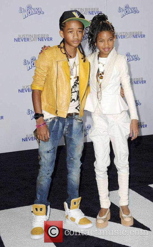 Jaden Smith, Justin Bieber and Willow Smith 1