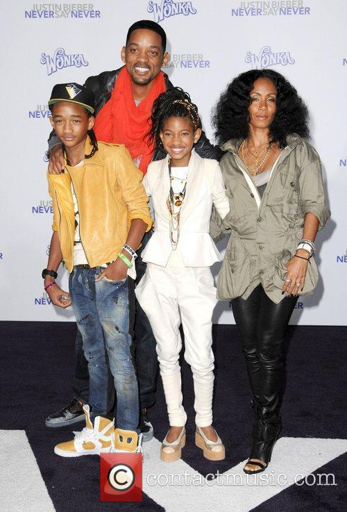 Will Smith, Jada Pinkett-smith and Justin Bieber 3