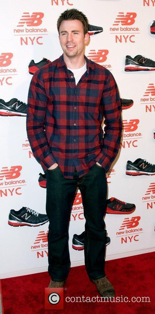 Chris Evans  Opening of the New Balance...