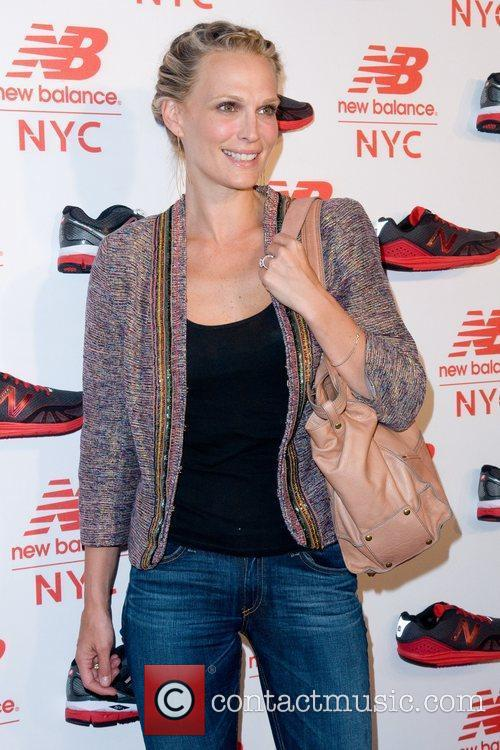 Molly Sims Opening of the New Balance Experience...