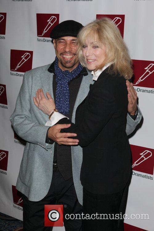 Nilo Cruz and Judith Light New Dramatists 62nd...