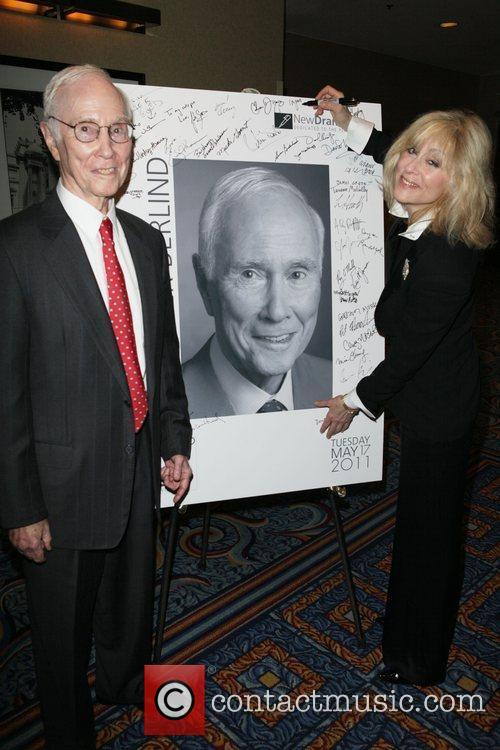 Roger Berlind and Judith Light New Dramatists 62nd...