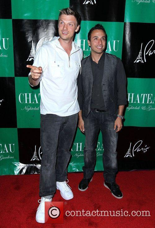 Nick Carter and Howie Dorough New Kids On...