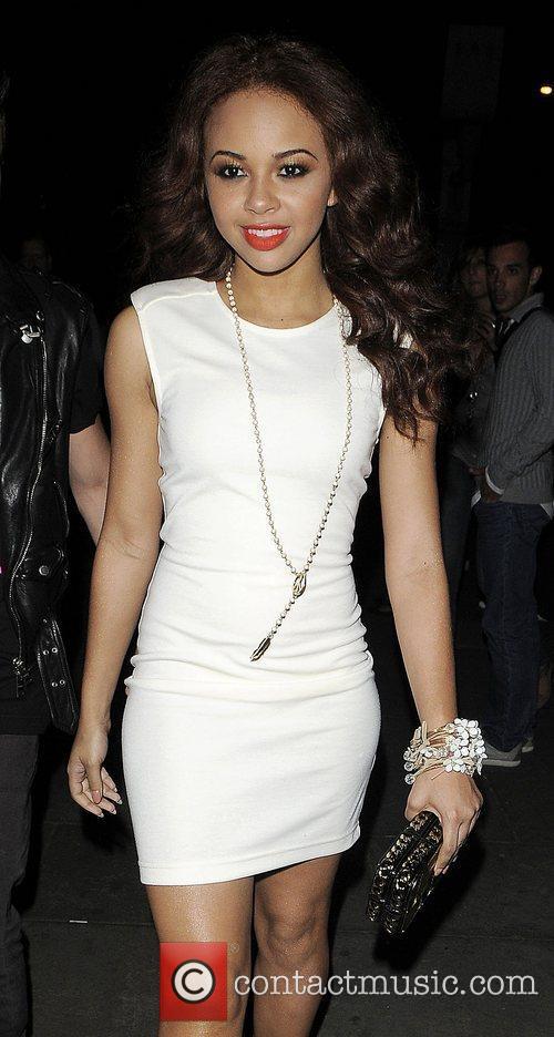 Singer Alexis Jordan leaving the 'New Look Style...
