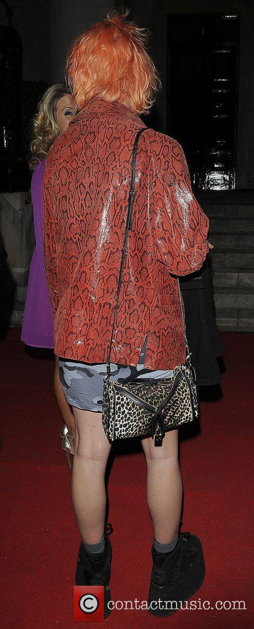 Pixie Geldof arriving at the 'New Look Style...