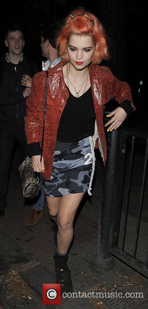 Pixie Geldof leaving the 'New Look Style the...