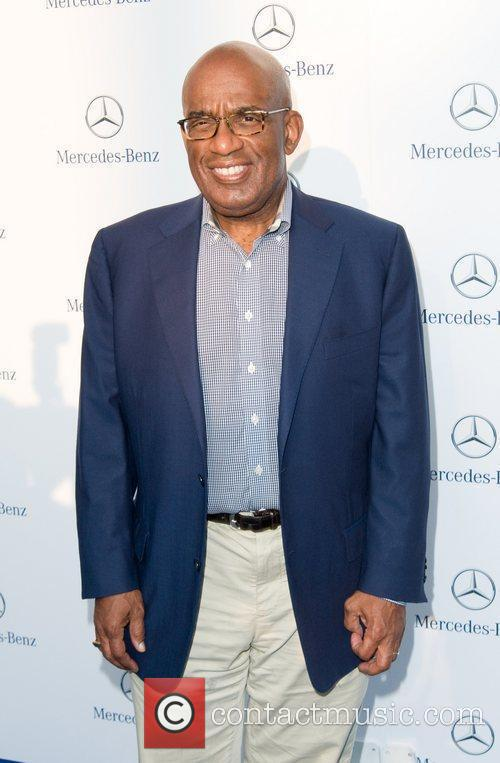 Al Roker Gala Opening of The New Mercedes-Benz...