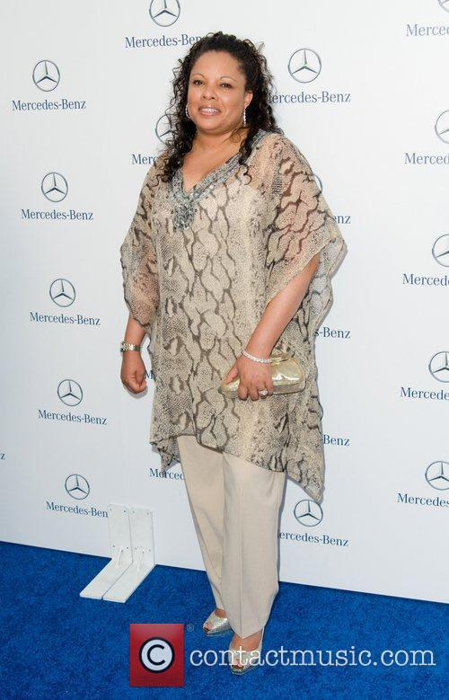 Justine Simmons Gala Opening of The New Mercedes-Benz...