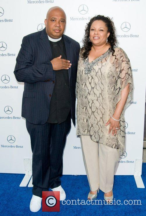 Rev Run and Justine Simmons Gala Opening of...