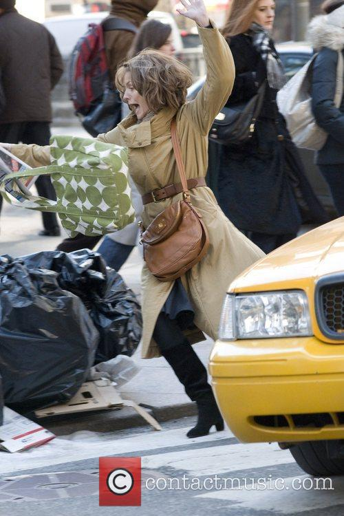 Michelle pfeiffer on the set of her new film new year s eve 44