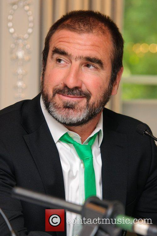 Eric Cantona Pele and Eric Cantona Host the...