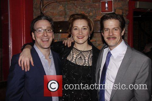 Jeremy Shamos, Francesca Faridany and Rick Holmes Opening...