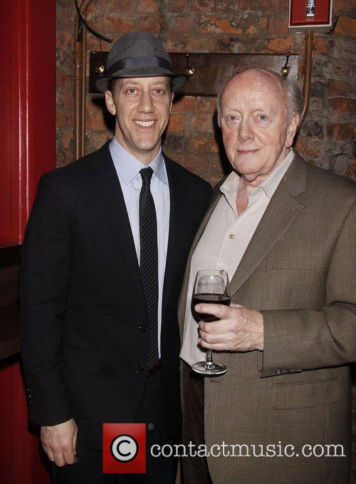 Joey Slotnick and Peter Maloney Opening night after...