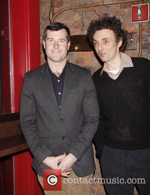 Tom Patrick Stephens and John Keating Opening night...