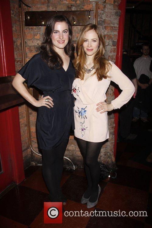Mikaela Feely-Lehmann and Jaime Ray Newman Opening night...