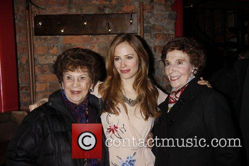 Jaime Ray Newman and her grandmothers Opening night...