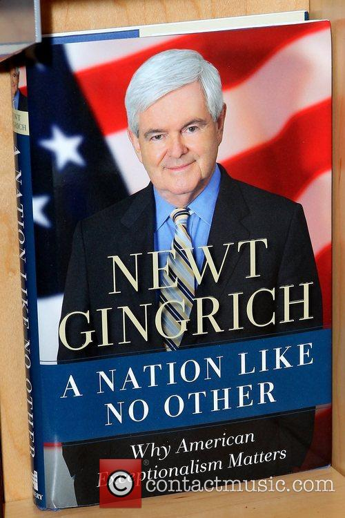 Atmosphere Newt Gingrich and Callista Gingrich promote their...