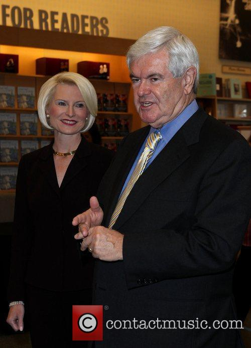 Newt Gingrich and Callista Gingrich Newt Gingrich and...