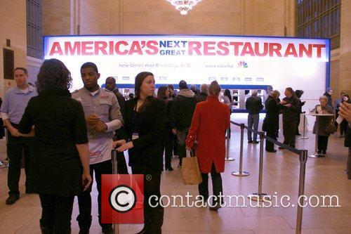 NBC promotes 'America's Next Great Restaurant' at Vanderbilt...