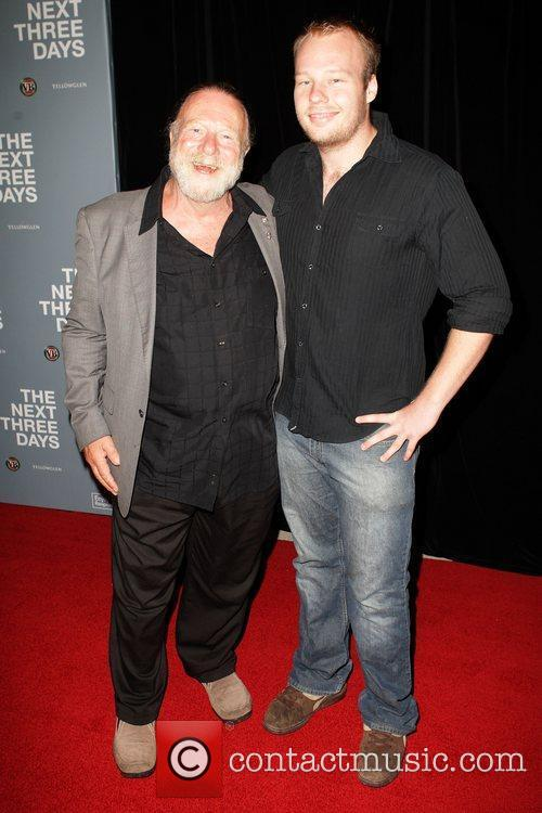 Jack Thompson and his son The Australian premiere...